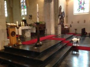 interieur kerk Herkenbosch